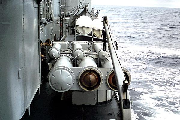 L3 Torpedo launch banks