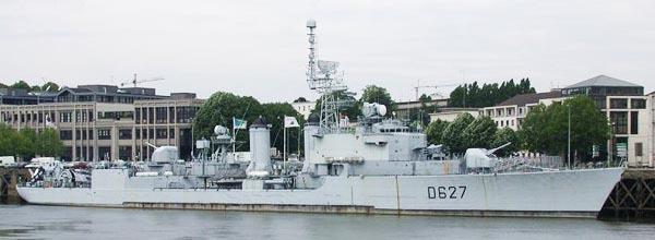 Maillé Brézé as a museum ship today in Nantes.
