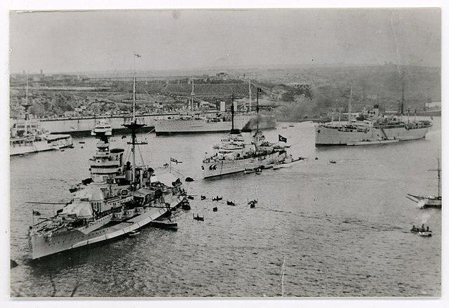 Barham and Yavuz in 1936