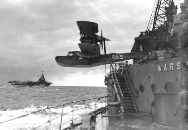walrus launched from warspite