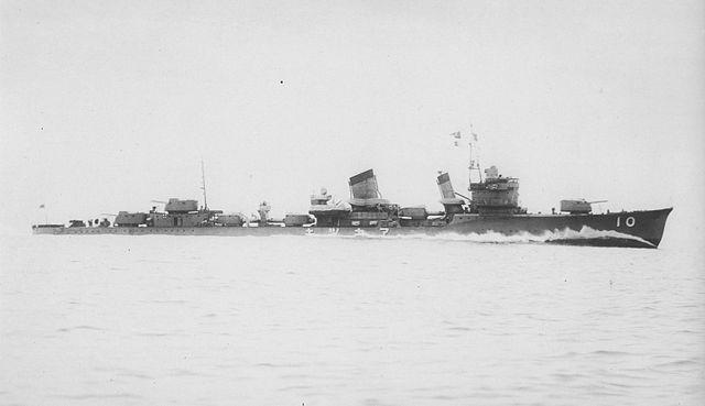 IJN Akatsuki in 1937