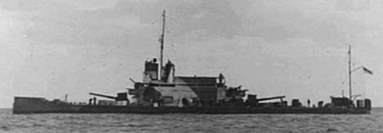 HMS Ladybird off Bardia in 1940
