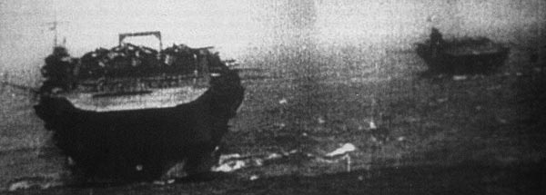 Kaga (foreground), Zuikaku (background) heading towards Pearl Harbor
