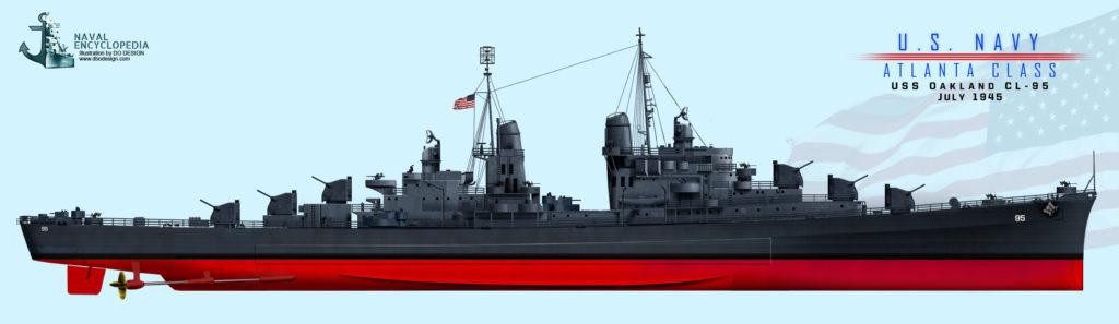 USS Oakland Measure 21, 1944
