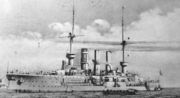Prinz Adalbert class cruisers