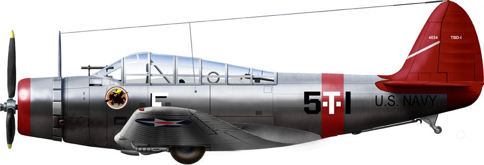 VT-5 USS Yorktown 1939