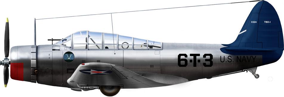 VT-6 USS Enterprise 1940