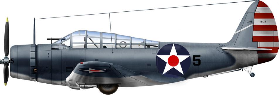 VT-6 Kwajalein raid, 1st February 1942.