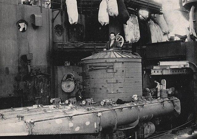 torpedo tubes uss san juan