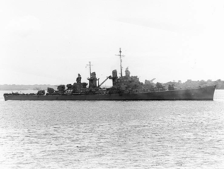 USS Atlanta 25 October 1942