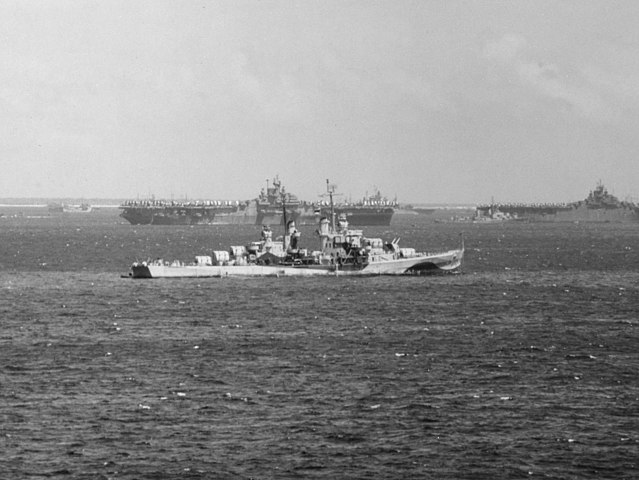 USS Flint ulithi march 45