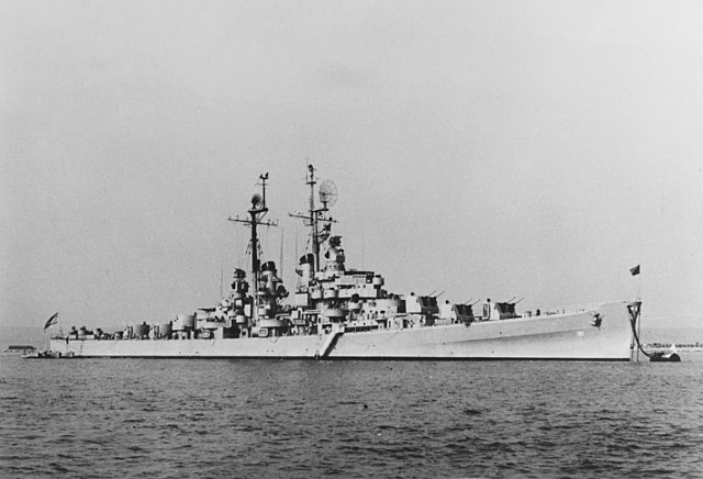 USS Fresno off Portland UK
