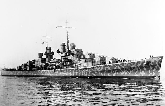 USS Juneau, 11 February 1942