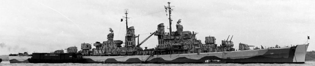 USS Juneau in October 1942