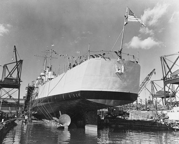 uss juneau launch stern