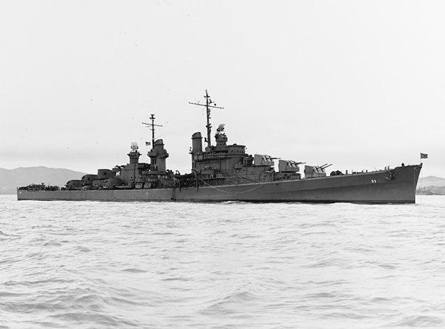 USS San Diego, 1st January 1944