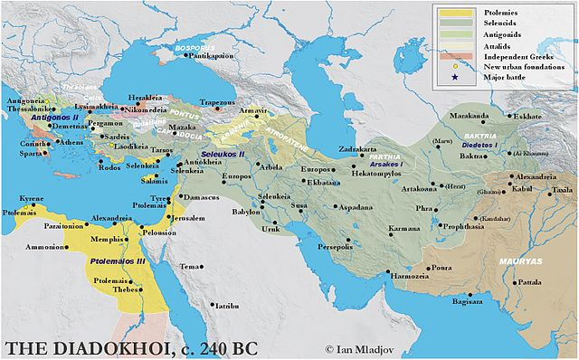 The ancient world in 240 BC