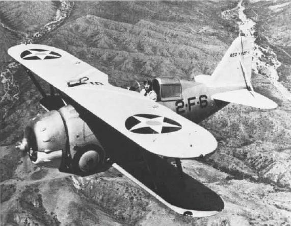 F2F-1 from VF-2B, USS Lexington