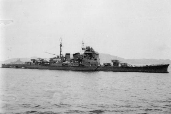 Chokai 1942, Chuuk islands