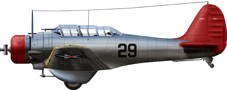 BT-1, NAS Miami, in 1941