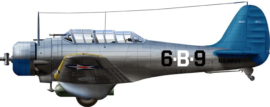 BT-1 if VB-6 (USS Enterprise), 1938