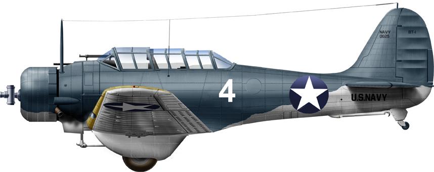 BT-1 from VN-5, NAS Pensacola, 1942