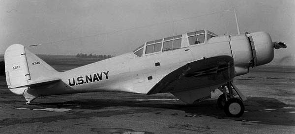 Northrop XBT-1, December 1936