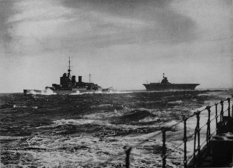 HMS Renown and Ark Royal
