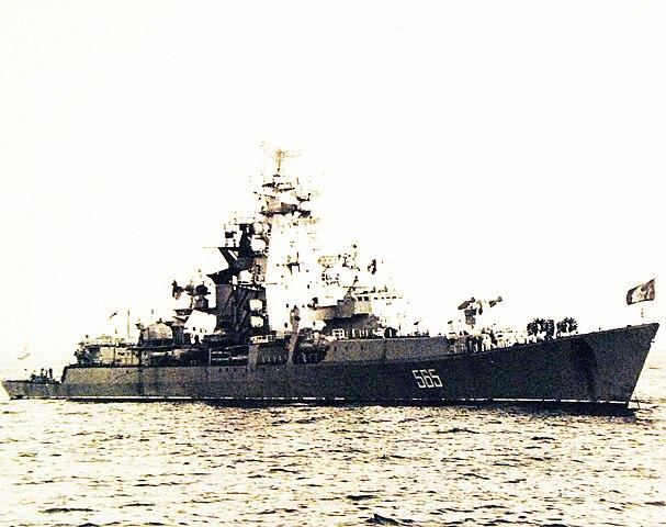 Vladivostok in Hawaiian waters, 1971