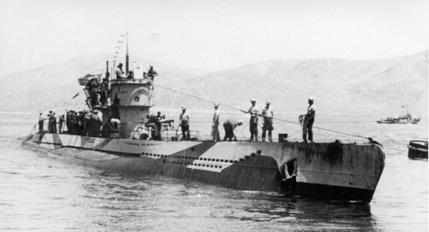 U-81 in the Mediterranean