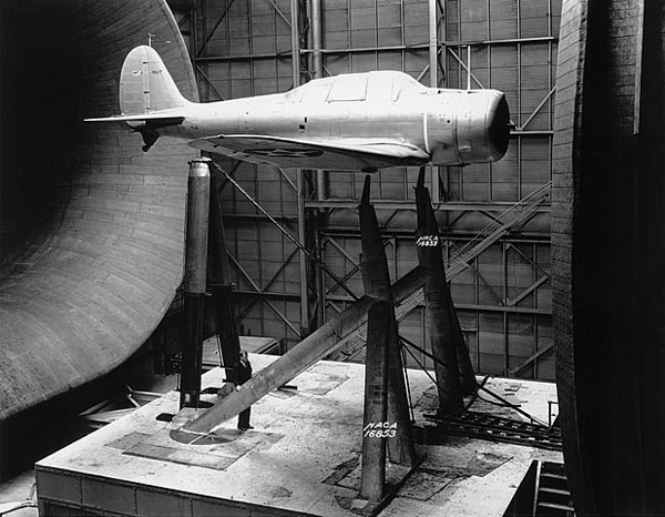 NACA's tests of the XBT-2