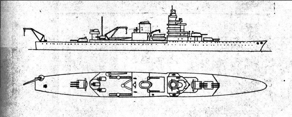 The original surviving sketch