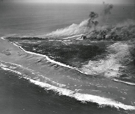 Aerial strikes on Engebi