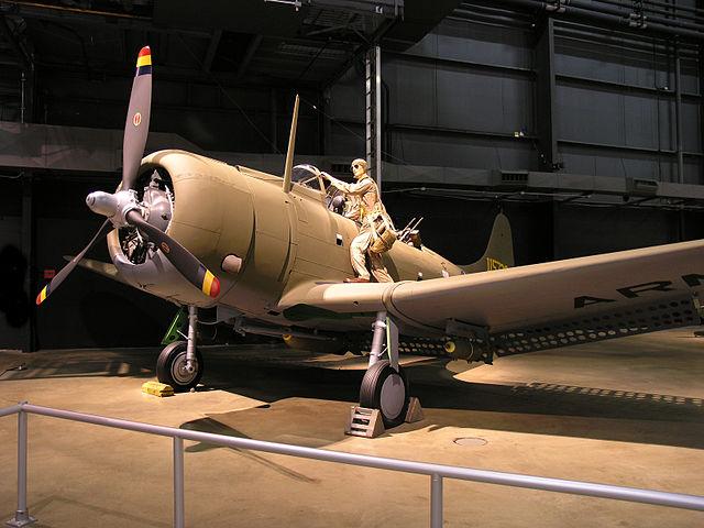A24 Banshee USAAF museum