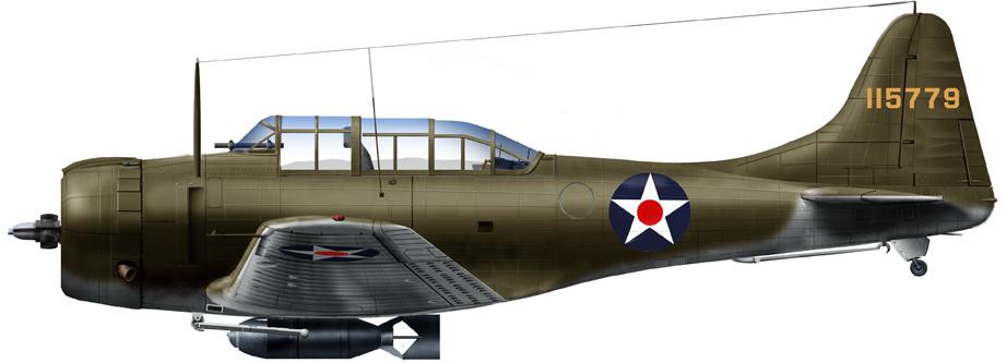 Douglas A-24 Banshee USAAF