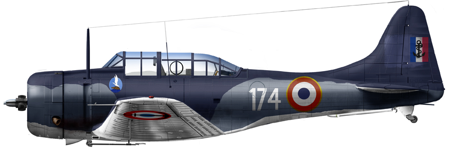 French Navy SBD-5
