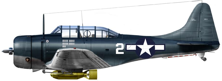 SBD-5, VMSB-231 Marine Air Group 22