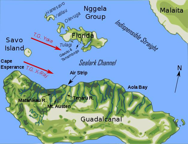 Guadalcanal_Aug_7_landings