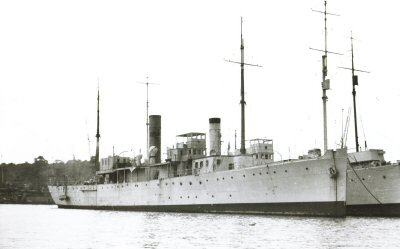 HMS Bryony in 1917