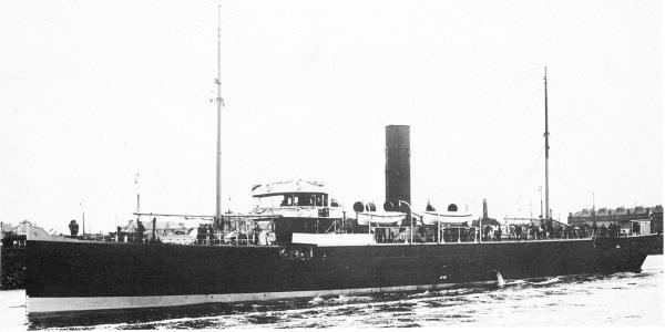 Q-Ship HMS Tamarisk
