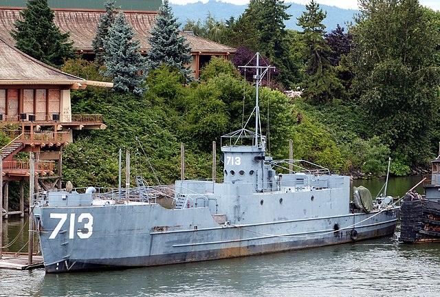 Surviving LCI(L) 713 in Portland, Oregon