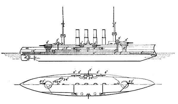 Roon_class-brasseys-linedrawing