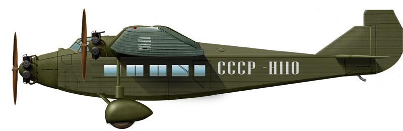 Tupolev ANT-9 Naval transport plane