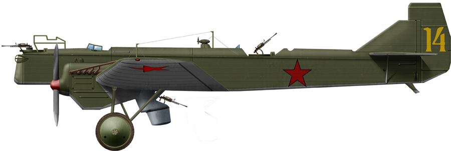 Tupolev R-6 of a pacific squadron, 1939