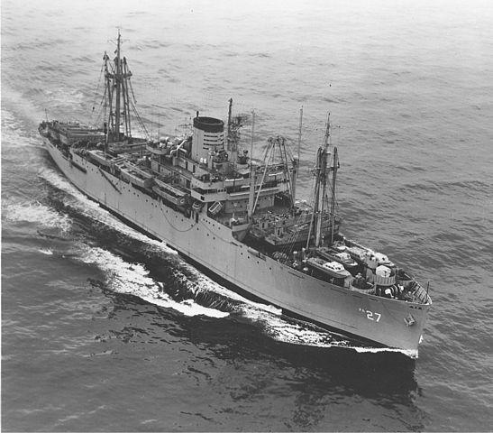 USS_George_Clymer_APA-27
