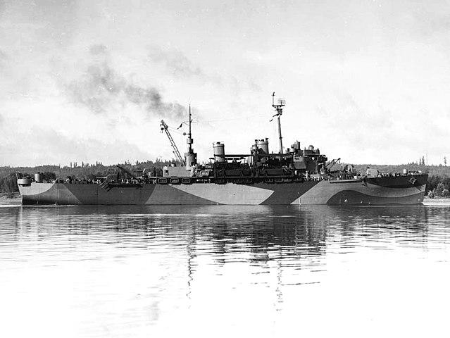 USS Ozark, 16 sept. 1944