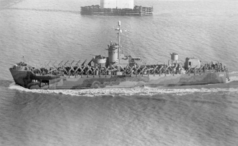 USS LSM-194 of the second sub-group
