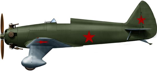 Yakovlev UT-1 navy trainer