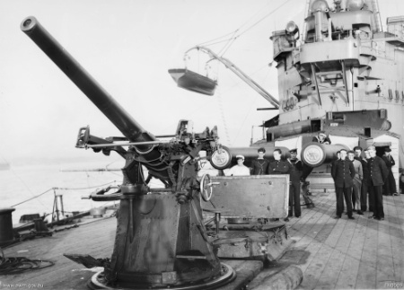3 inches 2cwt AA guns