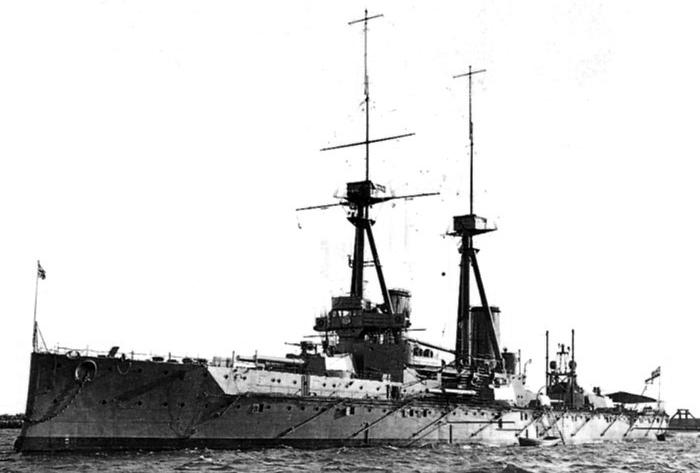 HMS Belerophon 1907
